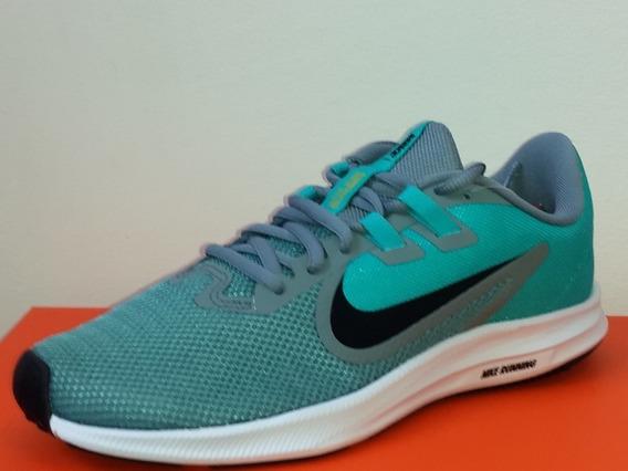 Tenis Nike Downshifter 9 Feminino Verde/ Com Nota Fiscal