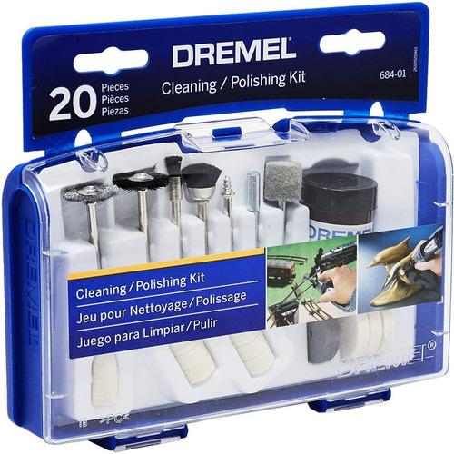 Kit De Acessórios Para Limpar E Polir 20 Peças Dremel 684
