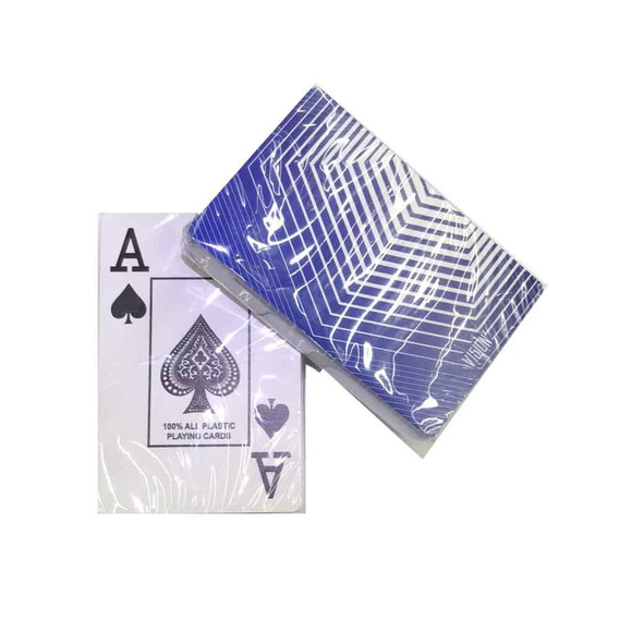 2 Jogos De Baralho 108 Cartas Em Plástico Poker Truco Magica