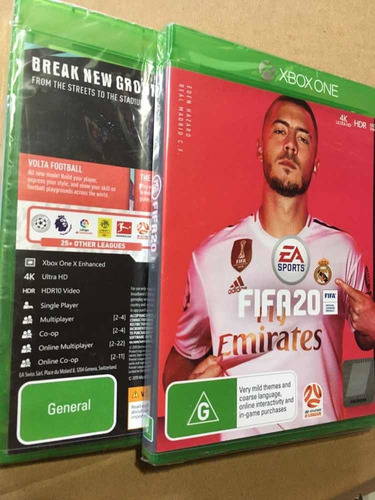 Fifa 20 2020 Xbox One Físico Nuevo Sellado Español