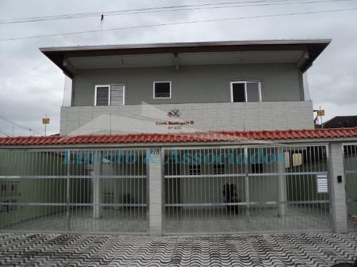 Casa Em Condomínio Fechado Para Venda, Vila Sonia, Praia Grande Sp 02 Dormitórios, Sala, Cozinha, Banheiro Social, Área De Serviço, 1 Vaga De Garagem - Ca00029 - 2555660