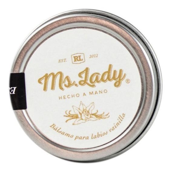 Bálsamo Labial Ms. Lady Vitamina E Orgánico Natural