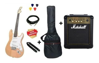 Guitarra Eléctrica Strato Onas Nt + Marshall + Acc + Cuotas