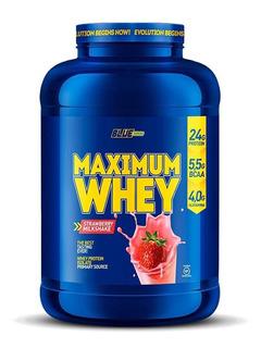 Whey Protein Maximum Whey 900g - Blue Series - Isolado, Wpc
