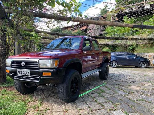 Imagem 1 de 14 de Toyota Hilux 1999 2.8 Dlx Cab. Dupla 4x4 4p