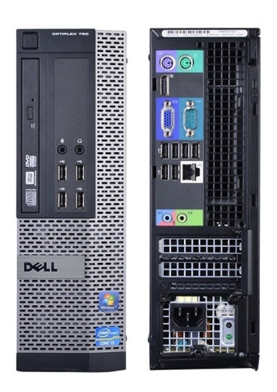 Cpu Pc Desktop Dell Opipltx 790 Core I3 3.30ghz 8gb Hd 500gb