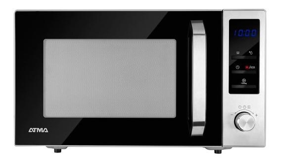 Horno Microondas Atma Md1823gn C/grill 23 Litros Digital 12c