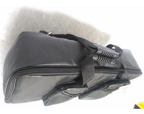 Semicase Capa Bag Pedaleira Couro Safira Black