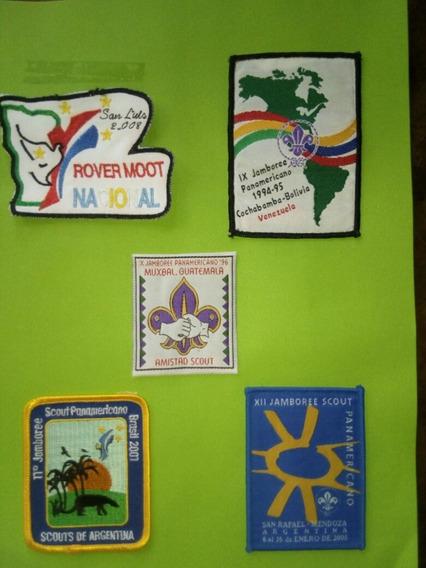 Insignias Scouts Jamborees Panamericanos