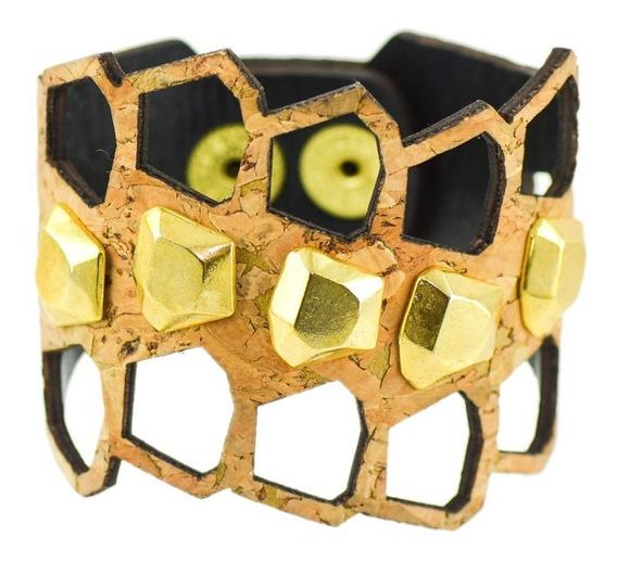 Bracelete Pepita - Cortiça