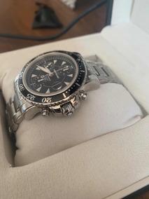 Relógio Montbalnc Chronograph Aço Impecável !!! Baratíssimo
