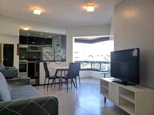 Flat No Jd. Paulista, 02 Dorm, Fora Do Pool - Sf27524