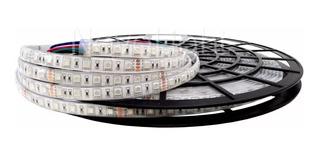 Tira 300 Led 5050 Rgb Multicolor - 10mt Sumergible - Exteriores Ip68 24v Piscinas Alta Calidad