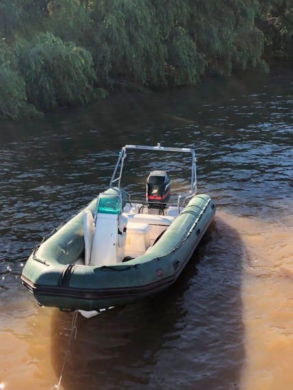 Bote Gomon Semirigido Bim 5.50mts Sin Motor