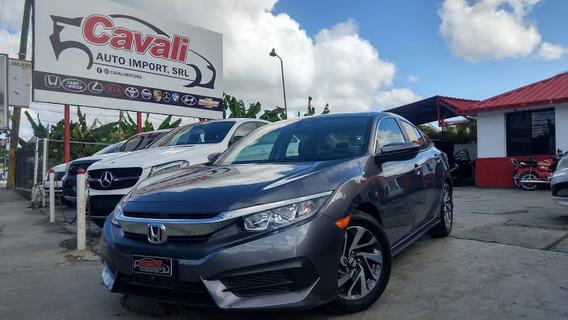 Honda Civic Gris 2017