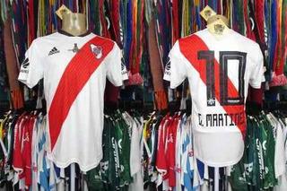 River Plate 2018 Camisa Titular Tamanho P # 10 G. Martinez.
