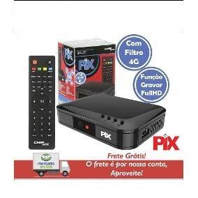 Conversor Digital Para Tv Full Hdtv 4g Hdmi, Rca E Função Gr