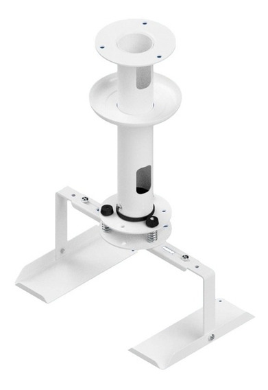 Suporte Teto Para Mini Projetor Avatron Branco Com Bandeja