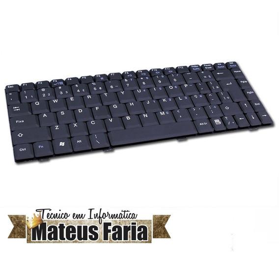 Teclado Notebook Sti-522 K022405e7 Preto Pronta Entrega