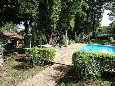 Chácara Com 4 Dormitórios À Venda, 2500 M² Por R$ 950.000 - Pinhal - Cabreúva/sp - Ch0004