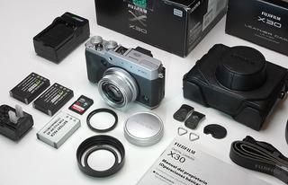 Cámara Fujifilm X-30 Equipo Completo Óptimo Para Exigentes!