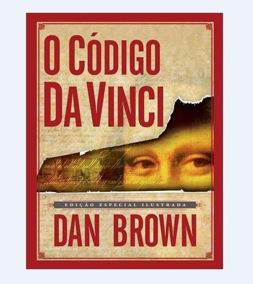 Livro O Código Da Vinci Edição Especial Ilustrada- Dan Brown
