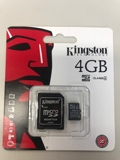 Cartão 4 Gb Kingston
