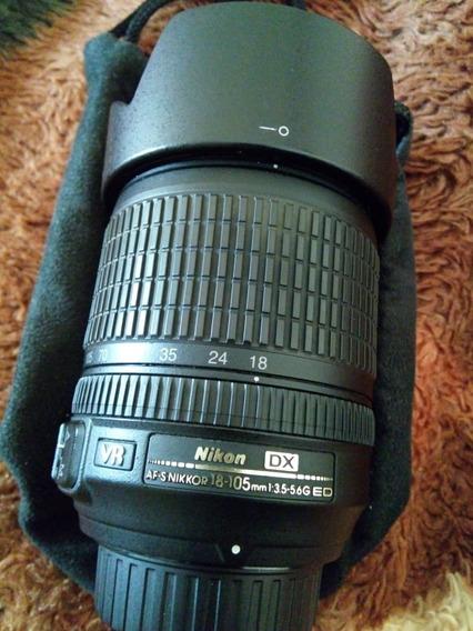 Lente Nikon 18 105mm