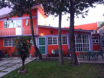 Renta Magnifica Casa En Xochimilco Muy Amplia Zona Arbolada