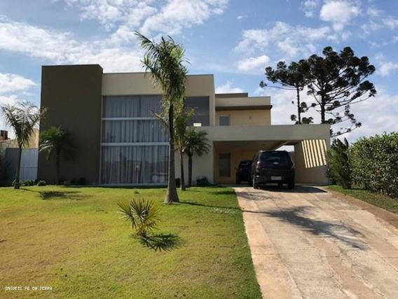 Casa Em Condomínio Para Venda Em Atibaia, Condomínio Equilíbrium Atibaia, 4 Dormitórios, 4 Suítes, 5 Banheiros - 076