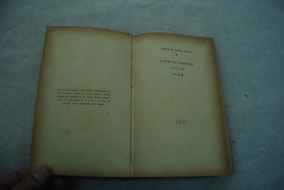 Livro Jorge Amado Edição Antiga1950