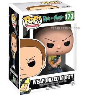 Funko Pop Rick Y Morty Morty 173 Original Scarlet Kids