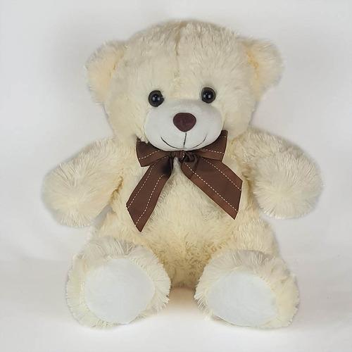 Urso De Pelúcia 35cm Creme