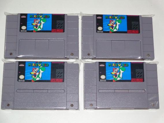 Super Mario World Original Salvando Com Garantia!!!!!!
