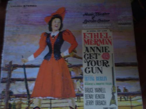 Vinilo De Annie Get  Your -ethel Merman(u766