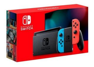 Consola Nintendo Switch 2.0 Nueva Versión 2019- Adn Tienda