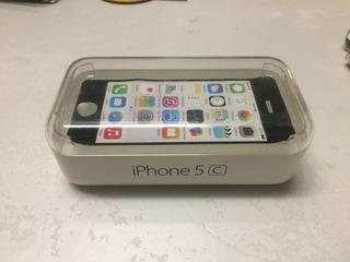 Caixa Do iPhone 5c Original, Completa