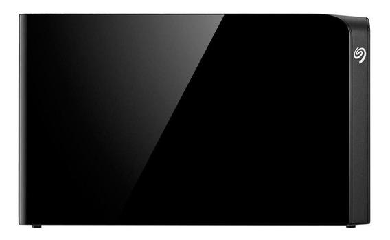 Disco rígido externo Seagate Backup Plus Hub STEL6000100 6TB preto