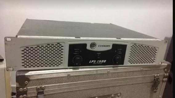 Amplificador Potência Crown Lps 2500 1450 Watts Rms