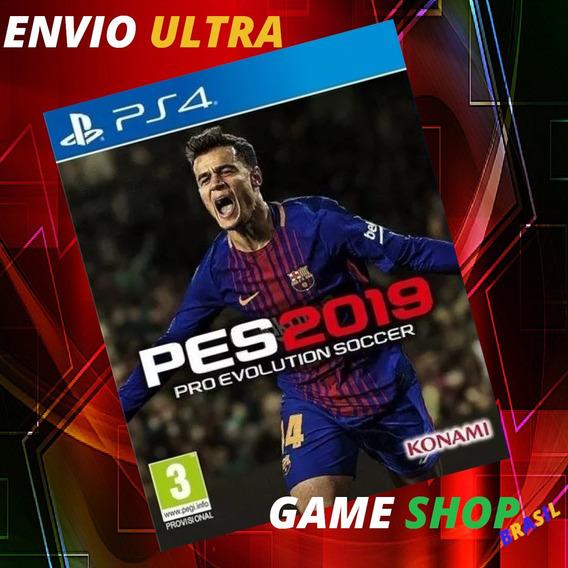 Pes 2019 Ps4 Pro Evolution Soccer 2019 Ps4 Psn Cod 1 - Pt-br