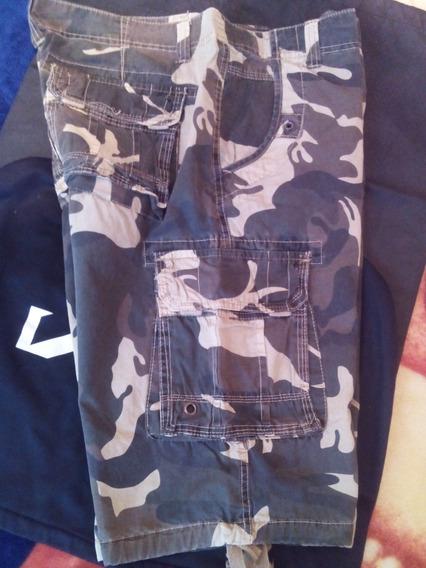 Bermuda Militar Junke Jeans