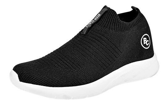 Bclass Sneaker Casual Textil Mujer Negro Textura C65578 Udt