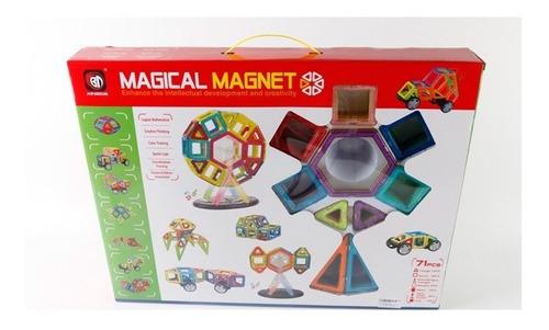 Bloques Magnéticos 71 Pcs 1372764 E.normal