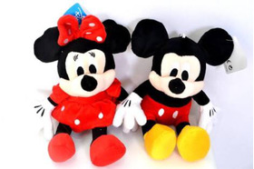 Kit Com 6 Minnies Vermelha Ou Rosa Ou Mickey