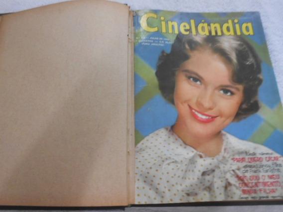 Cinelândia Encadernada Nºs 185 Ao 188 Ano De 1960 Compre Já