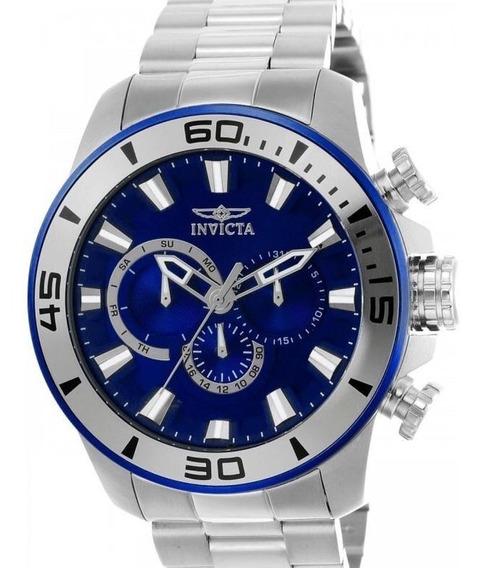 Relógio Invicta Pro Diver 22586 - Prata - Original Novo