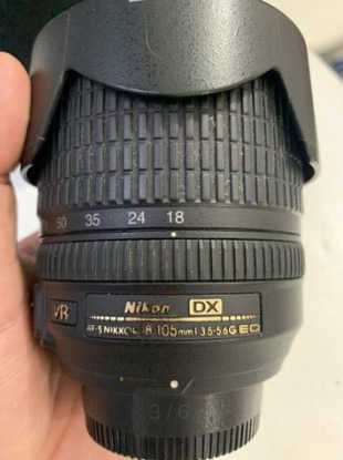 Lente 18-105 Nikon De 850,00 Por 630,00 Sem Fungos Toda Ok