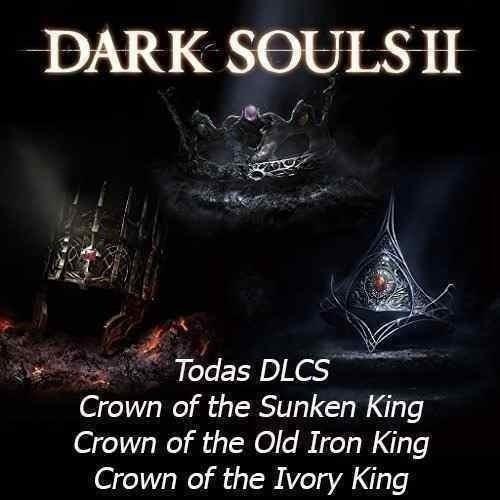 Pack Dlcs* Dark Souls 2 - 3 Dlcs* Ps3 - Jogo Não Incluso