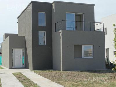 Venta Y Alquiler Casa En Barrio La Cañada De Pilar- Apto Credito Reservada