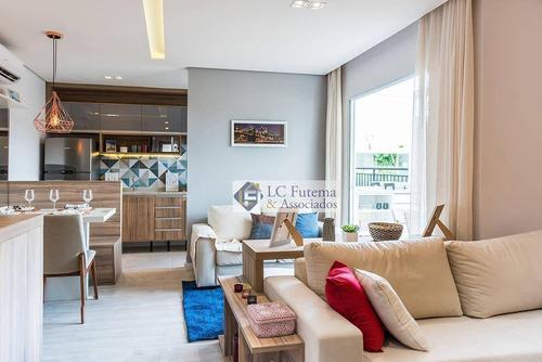 Apartamento Com 3 Dormitórios À Venda, 56 M² Por R$ 229.900,00 - Raízes Eco Clube - Cotia/sp - Ap0241